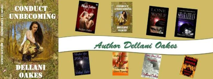 author dellani oakes banner with conduct unbecoming from Christina