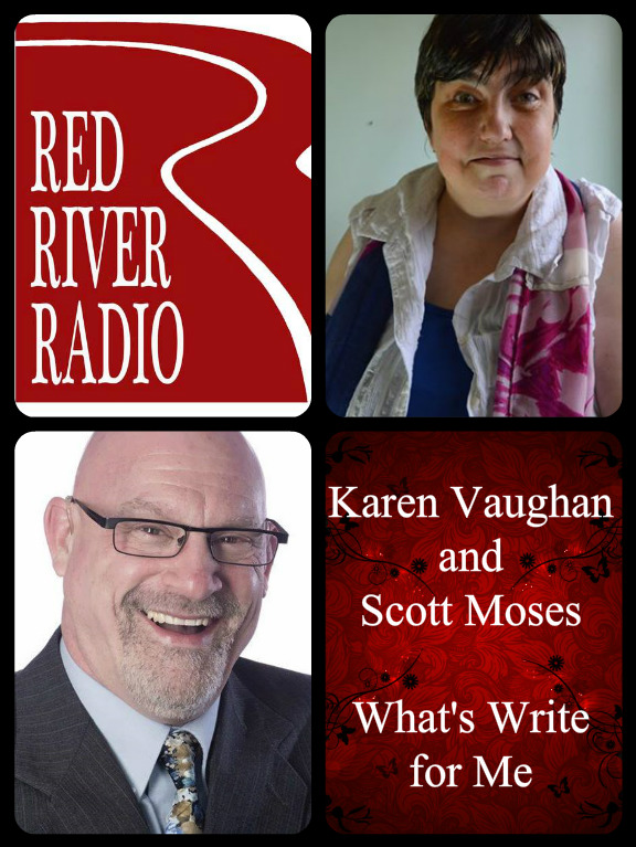 Karen Vaughan Scott Moses What's Write for Me collage