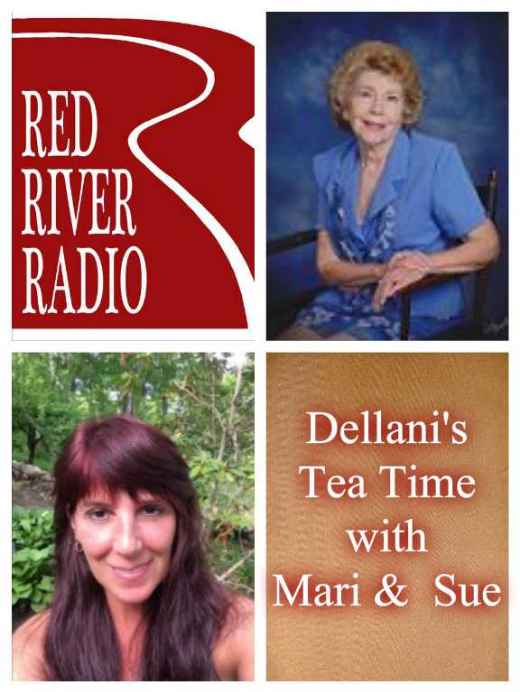 Dellani's Tea Time with Mari and Sue